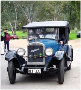 Brian Collins 1924 OAKLAND at the AAAC 30 Year Run